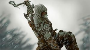 Assassin's Creed 3  by Greg Rekas by greQ111
