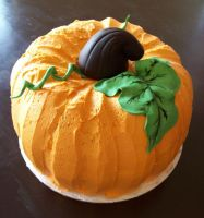 Pumpkin cake by see-through-silence