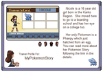 Profile Page - Me by MyPokemonStory