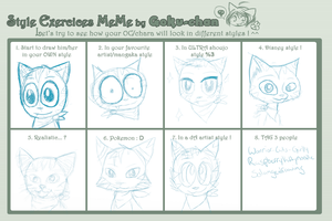 Style Exercices Meme by HawkstarCalico
