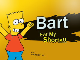 Bart Joins the Battle by DJgames