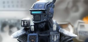 Speed painting practice - Chappie by xuyinyin
