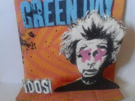 FOR SALE 3D papercut dos album cover by Ine-Z