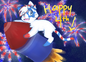 Happy Fourth by Me11ochan
