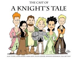 'A Knight's Tale' cast by JayFosgitt