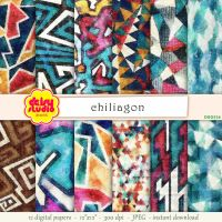Tribal Digital Paper Pack dsg026 by daisyanderson