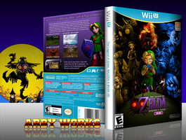 The Legend of Zelda: Majora's Mask HD Box by Arby-Works