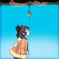 Mistletoe Meme: Amy by MaryLittleRose