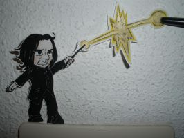 Severus Snape paperchild 01 by Silwy-whisky
