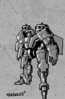 Avenger Warbot by Canalus