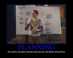 Planning Motivational Poster by QuantumInnovator