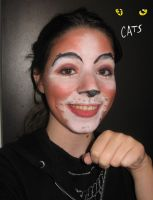 Jemima -CATS- make up test 2 by MiracoliCosplay