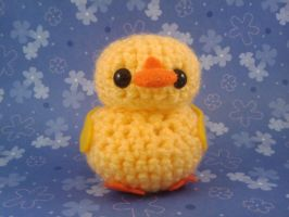 Amigurumi Yellow Duckie II by AmiTownCreatures