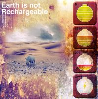 Earth is not rechargeable by rDOPEd