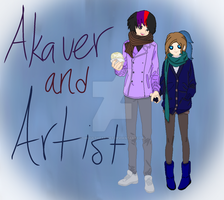 Akaver and Artist by Ghoulpony