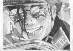 Michael Jackson by 100PourCentDessins