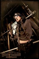 Steampunk Warrior II by nitr0gene