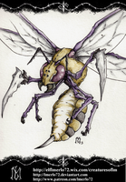 Pokedex Project: Beedrill by lmerlo72