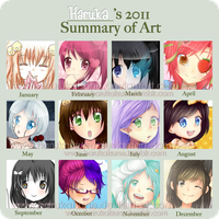 2011 Art Summary by harukatsune