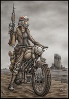 Wasteland Scout by jflaxman