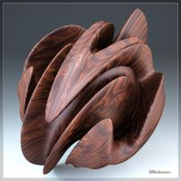 LS04:  Twisted Rosewood Sphere by JJLudemann