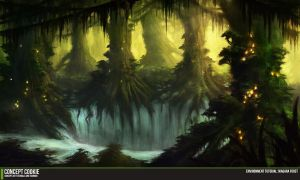 Environment Tutorial: Niagara Forest by ConceptCookie