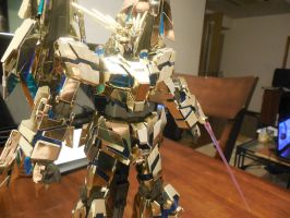 MG 1/100 Gold Coat Phenex: Destroy Mode 1 by Leimary