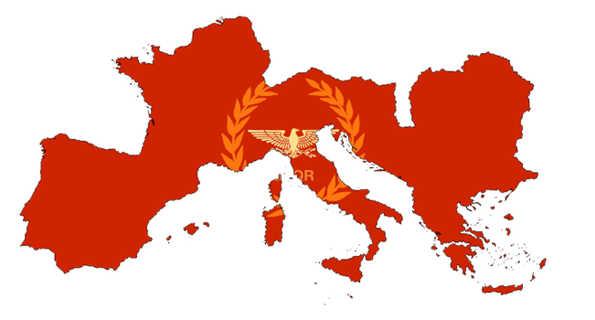 Greater European Panlatin State (Imperial) by LoreC10