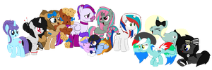 .:Group Shot:. by iPandacakes