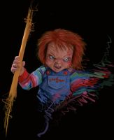 Chucky scribble by disresponsible