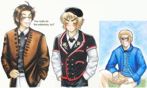 APH: Traditional Costumes 3 by Cadaska