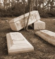 Post Katrina Tombs in Chaos by GreenDragonWorkshop