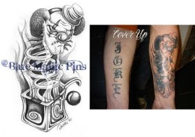 Joker cover up by anchica