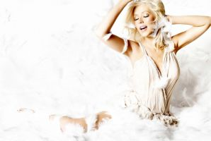 Christina Aguilera Wallpaper 1 by Catsya