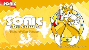 Sonic the Comic : Tails by adamis