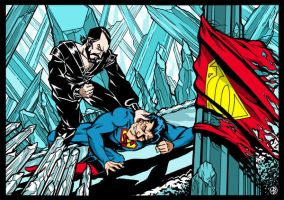 Superman vs. Zod by Weier1138