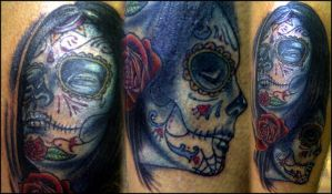 day of the dead girls by sludger