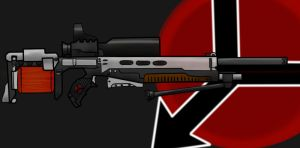 Helghast concept rifle by VeXeDZERO