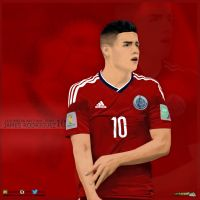 James Rodriguez - Colombian by Serkan1905