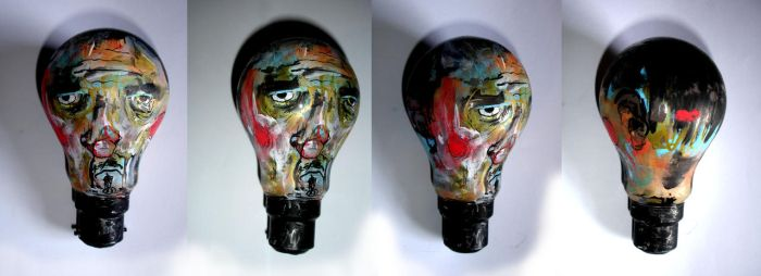 Suffering Artist Lightbulb by ian-moore