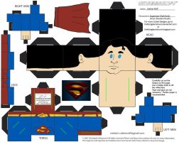 DCF7: Superman Cubee by TheFlyingDachshund