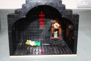 The Masque Of The Red Death Lego by LucifersLego