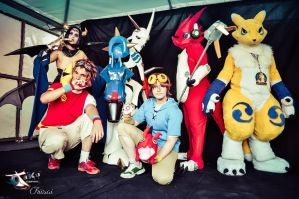 [COS] Digimon Group #02 by JaycaChan
