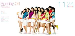 Girls' Generation Rainmeter Skin by Pox-Politic