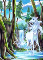 The last unicorn by AriyaLothiriell