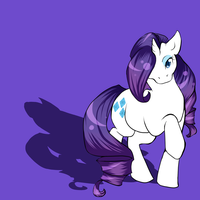 MLP -- Rarity by oukiee