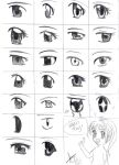 ::How to draw Shojo Eyes:: by bunnify