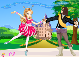 Ballet Dress up Game by willbeyou