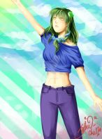Sanae by neonparrot