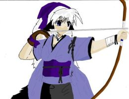 Archer Of Wolf .::COLORED::. by Crying-Chimera